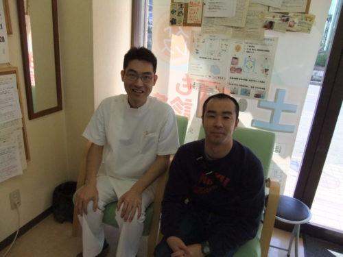 鎌ヶ谷市在住:膝痛みが楽になったお客様の写真