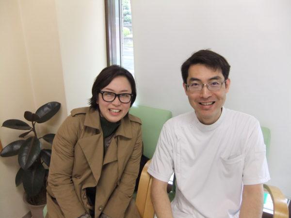 不妊鍼灸の患者さんとの写真
