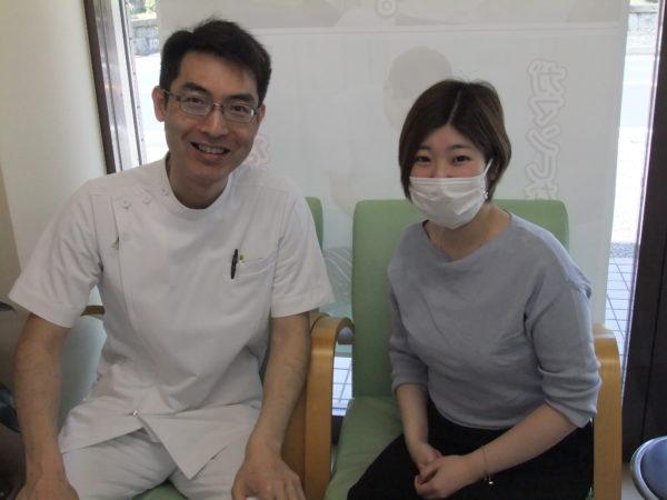 初期で3度流産(29歳女性 白井市)患者さんとの写真