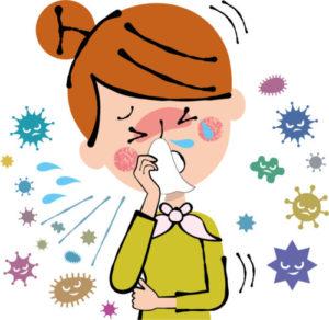 インフルエンザ予防のお灸